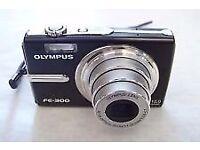 olympus FE-300 digital camera 12.0mp black great condition