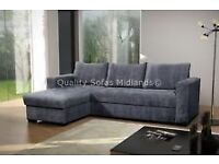 I HAVE A USED GREY FABRIC CORNER SOFA FOR SALE. FREE LOCAL DELIVERY.