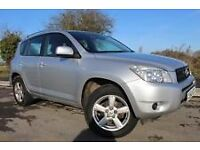 TOYOTA RAV 4 silver years MOT petrol reliable engine