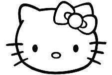 0e4e73763 Hello Kitty Car Decal | eBay
