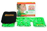 ClickHeath instant heat therapy packs with slow cooker