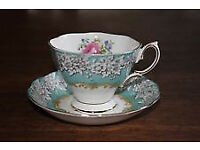 Exquisite Bone China - cups and saucers
