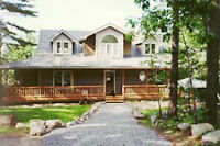 Muskoka Vacation Luxury Home  for August and September