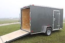 WANTED-- 6x12 single axle enclosed trailer.