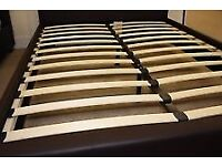 Wooden slats to king size bed