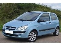2006 Hyundai Getz 1.1, Full Years Mot, Only 63000 Miles, F/S/H, 2 Keys, Warranty, Cheap to Run