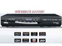 Spiderbox hd6000 satellite receiver