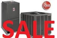 Air Conditioner - Furnace SALE - Limited Offer