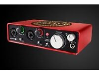 In Excellent Condition - Focusrite Scarlett 2i2 Second Generation