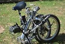 """ELECTRIC FOLD UP BICYCLE 20"""""""