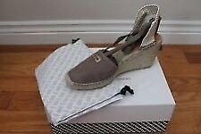 Brand new DVF leather Marcelle Espadrilles Wedges