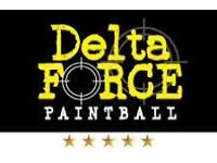 Delta force paintball tickets!