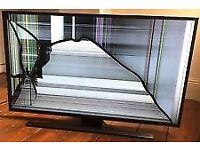 We do repair tvs and crack screen at reasonable price.
