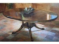 Oak Cluster Leg Dining Table