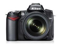 Nikon D90 Plus Nikkor AF-s 50mm 1.4G, spare battery & carry case