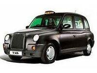 BLACK CAB EDINBURGH STREET CAB