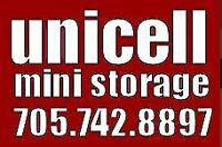 Unicell Ministorage - Clean, Secure,Local storage