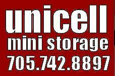 Unicell Ministorage - Clean, Secure, Local storage
