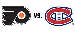 CANADIENS VS FLYERS REDS SAT.JAN. 19TH.2x113P
