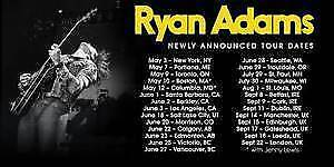 FINAL CALL ✪Ryan Adams ✪Southern Alberta Jub THU Jun 22 8PM