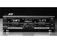 Aiwa Ad wx 808 twin tape cassette player