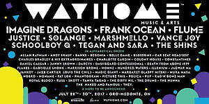 WAYHOME Music Festival Hard Copy Tickets (GA 3-Day Passes)