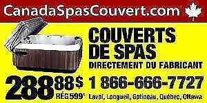 Couverts de spas hot-tub covers surplus d'inventaires 2014