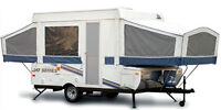 FOR RENT - Jayco Jay Series 1006 Tent Trailer (12 ft, Sleeps 7)