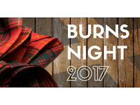 Burns Supper and Dance
