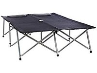 Outwell double fold up camp bed