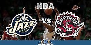 Selling 2 tickets Toronto Raptors vs. Utah Jazz on Jan 1