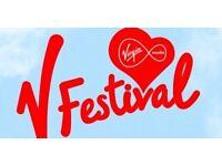 Volunteer at V festival 17/8-21/7