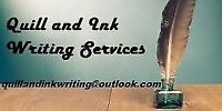 Quilla dn Ink Writing Services - Resumes and More!