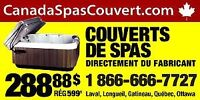 Fabricant  couverts de spas hot-tub covers manufactur direct