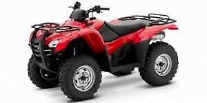 Wanted - looking for 2005 and newer Honda Rancher or Rubicon