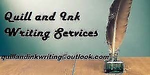 Quill and Ink Writing Services – Resumes and More!