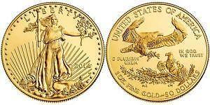 American Eagle Gold Bullion Coins 1 Oz