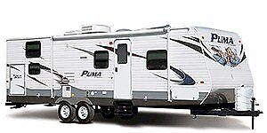 2011 Puma by Palamino Travel Trailer for rent.