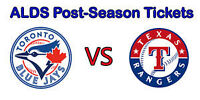 Toronto Blue Jays Playoff ALDS **Game 2 $380 for the pair**