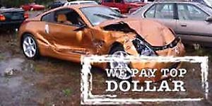 WE PAY TOP $$ CASH $$ FOR SCRAP CARS (905)516-3050