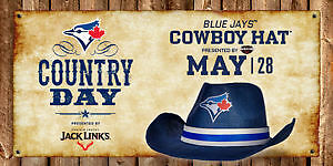 Blue Jays - Country Day May 28 - Section 113AR Row 16 - Seats1,2