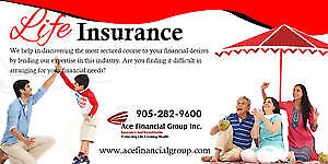 GET INSURANCE, DO NOT WORRY ABOUT MEDICALS, CALL ACE FINANCIAL