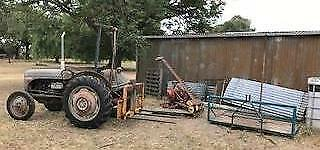 Fergie Tractor with extras