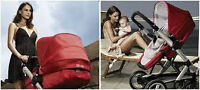 Italian.Peg-Perego Skate Strolle -bassinet.3in1.With adpters