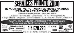 Appareils electromenagers-vente-repation-service-West Island West Island Greater Montréal image 1