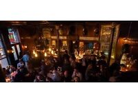 Bar Staff Needed for Hackney's Cat&Mutton (Full time and Part time)
