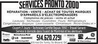 Services Pronto-Vente-Service-Appareils electromenagers