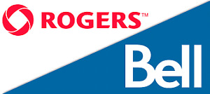 ROGERS TELUS BELL PLAN: Unlimited Everything + $38 5GB- $55 16GB
