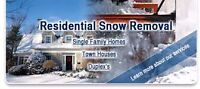 Residential Snow Removal- Winnipeg City Wide