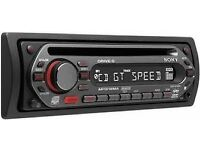 Sony CDX-GT20 RDS Radio MP3/CD player in car stereo system unused new in box